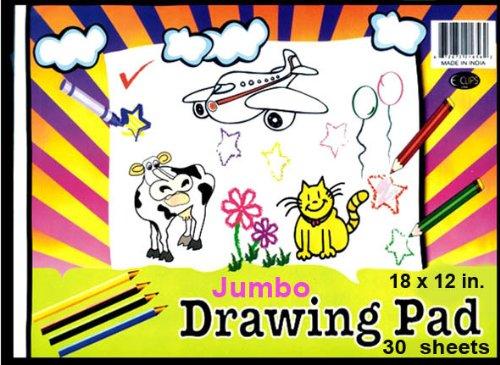 Drawing Sketch Pad - 30 sheets - 12 x 18 48 pcs sku 1281356MA
