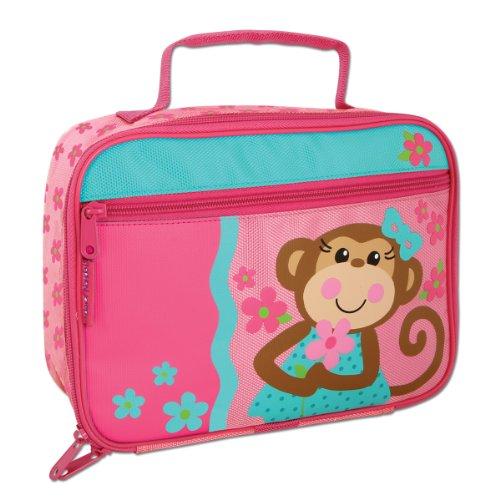 Stephen Joseph Lunch Box Girl Monkey