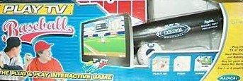 Play TV Baseball Plug Play Video Interactive Game NEW