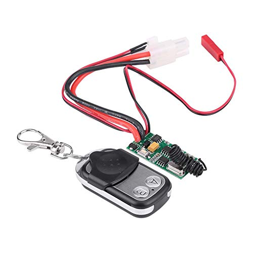 RC Winch Wireless Remote Controller Receiver for SCX10  D90 110 Scale RC Crawler Car