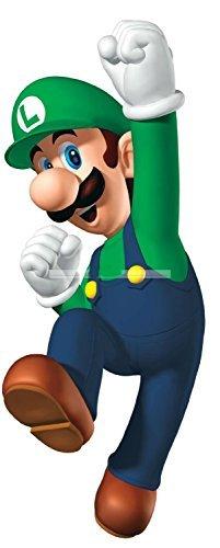 8 LUIGI Super Mario Games Bros Removable Wall Decal Sticker Art Home Decor Kids