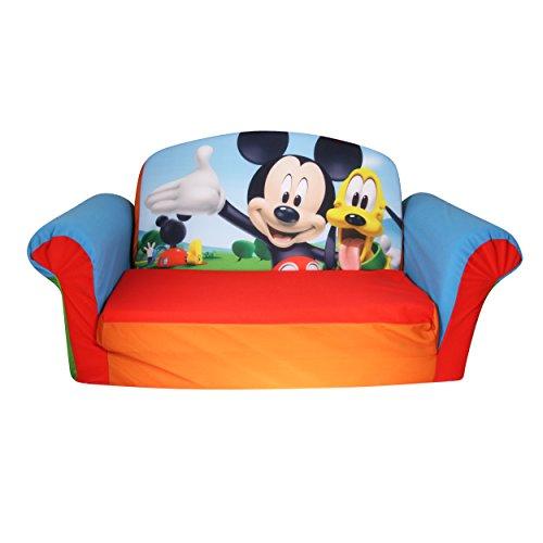 Marshmallow Furniture - Flip Open Sofa - Mickey Mouse Club House