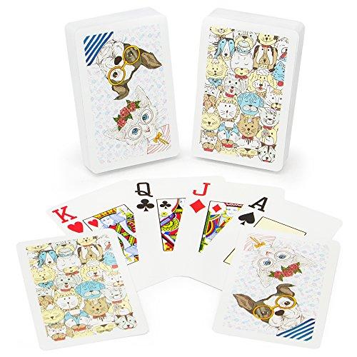 Copag Neo Pets 100 Plastic Playing Cards Bridge Size Jumbo Index