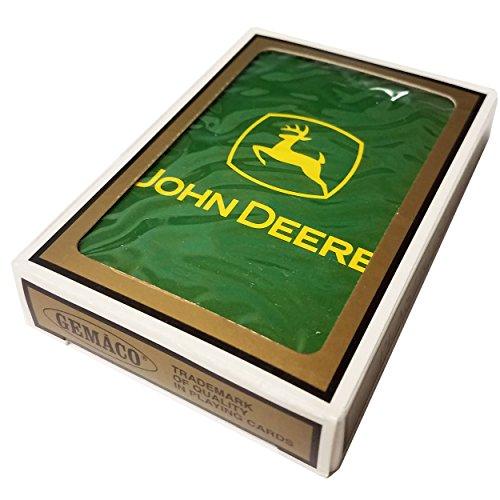 John Deere Promotional Green Yellow Logo Gemaco Poker Playing Cards