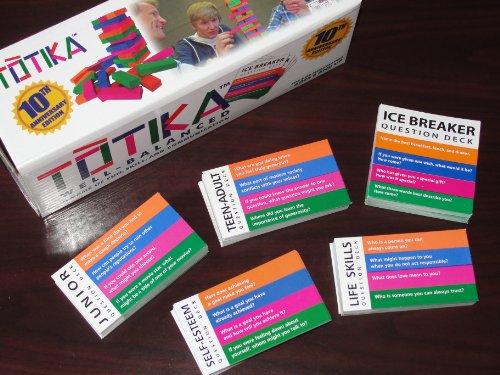 TOTIKA SET Five Card Decks Included