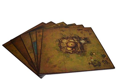 Golem Arcana Set 2 Map Tiles Board Game