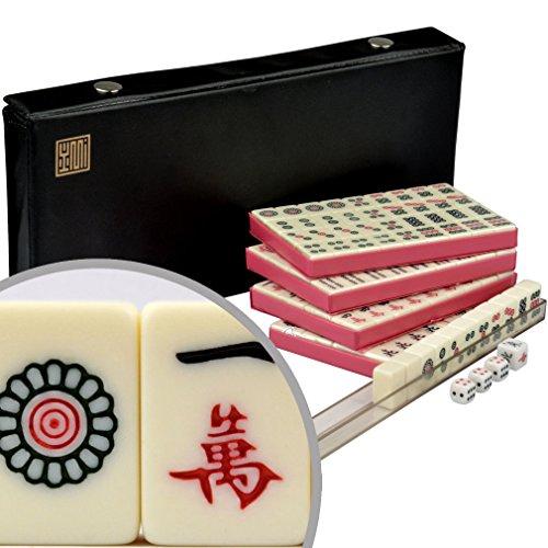 Chinese Mahjong Mahjongg Mah Jongg Mah-Jongg Majiang Travel Game Set - Mini
