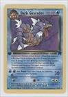 Pokemon - Dark Gyarados Pokemon TCG Card 2000 Pokemon Team Rocket Booster Pack Base 1st Edition 25