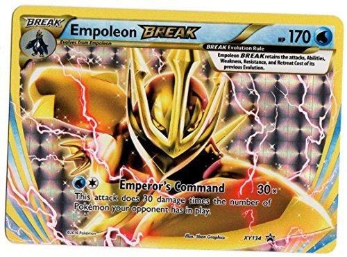Pokemon TCG Card Game Empoleon Break Evolution XY134 Holo Foil Promo Card XY 134