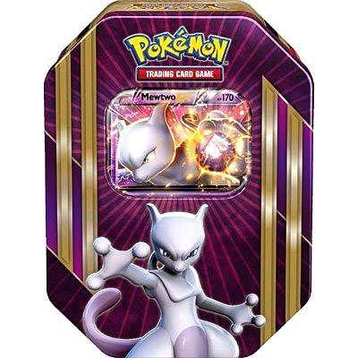Pokemon Mewtwo EX Triple Power Tin - Pokemon Breakpoint Cards Pre-order