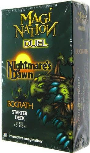 Magi Nation Duel Card Game Nightmares Dawn Bograth Theme Deck by Interactive Imagination