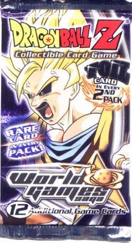 DragonBall Z World Games Saga CCG Foil Pack