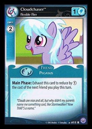 My Little Pony CCG - Cloudchaser Flexible Flier 11 - Premiere Edition
