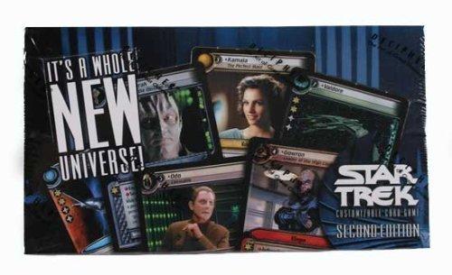 Star Trek Second Edition CCG Second Edition Combo Box 8 Decks  24 Packs