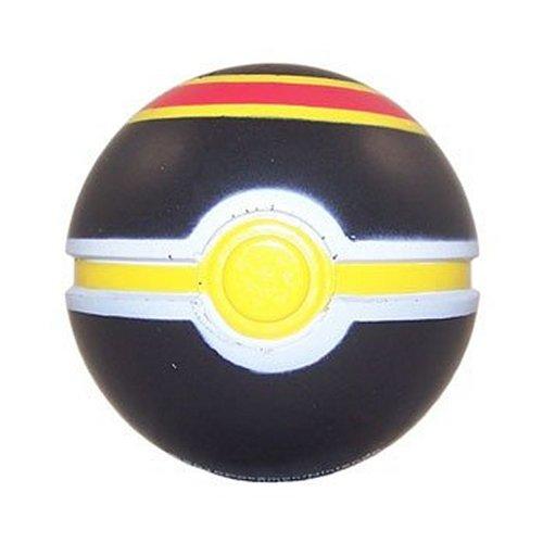 Pokemon Toy - Soft Foam Pokeball - LUXURY BALL Black Red Yellow - 25 inch