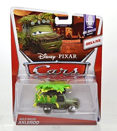 MATTEL Disney-PIXAR CARS2 MEL DORADO SHOW WILD MILES AXLEROD DELUX Mattel Cars 2 Mel Dorado show Wild Miles Axelrod Deluxe Axelrod Sir