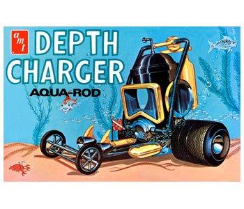 AMT Depth Charger Aqua-Rod 125 Scale Model Car Kit