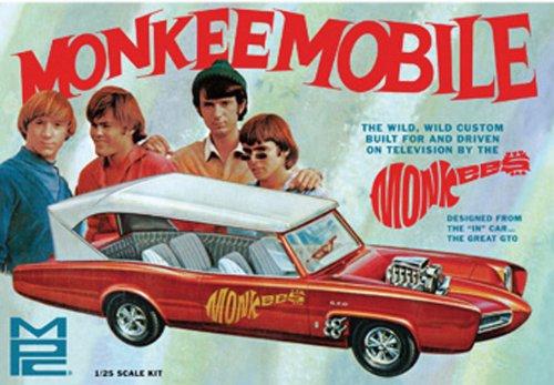 MPC Pontiac GTO The Monkees Monkeemobile 125 Scale Model Car Kit