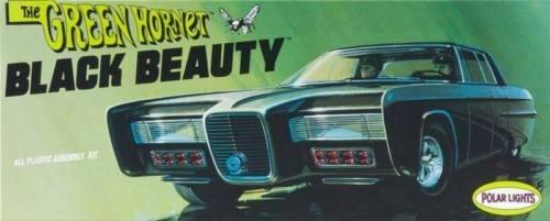 Polar Lights Green Hornet Black Beauty 132 Scale Model Car Kit by Round 2 LLC Polar Lights