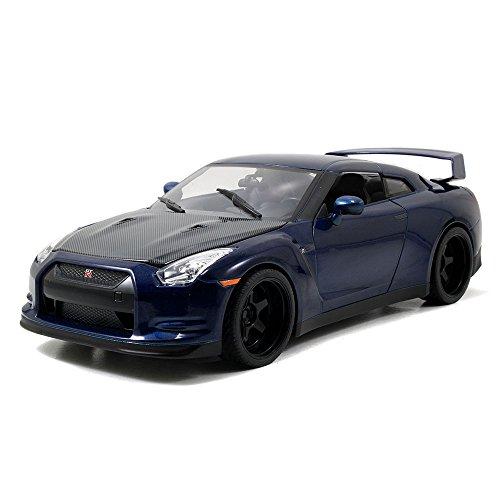 Jada Toys Fast Furious 1 18 Diecast Nissan GT R Vehicle
