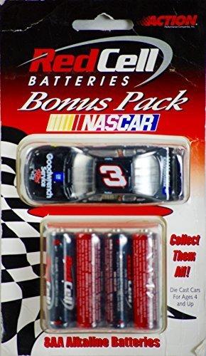 Dale Earnhardt 3 Bonus Pak Red Cell 8 AA Batteries 2000 164 Diecast Car