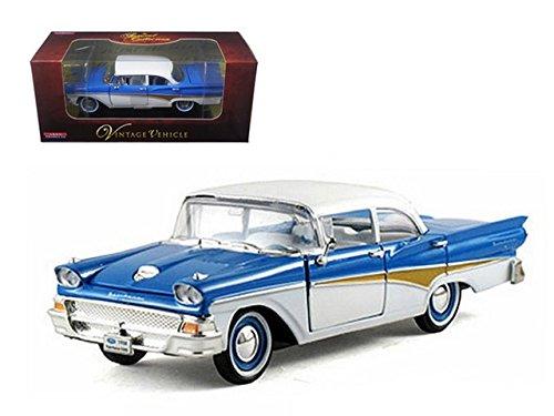 Arko 05801bl 1958 Ford Fairlane Blue 1-32 Diecast Car Model