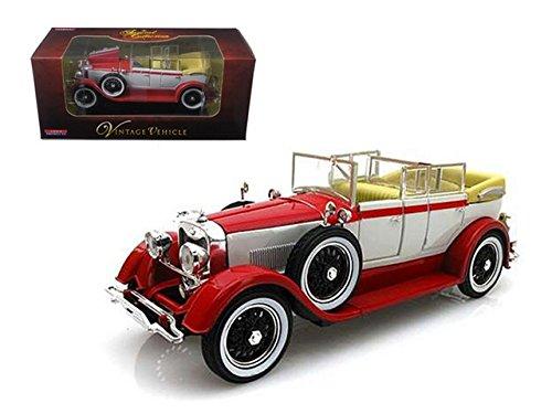 Arko 22821r 1928 Lincoln Dietrich Limousine Red 1-32 Diecast Car Model