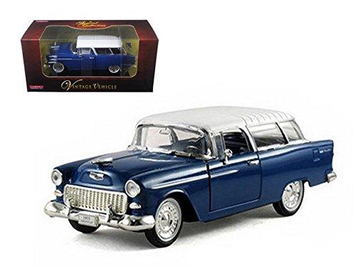 Arko 35521bl 1955 Chevrolet Nomad Blue 1-32 Diecast Car Model