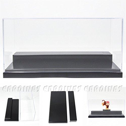Odoria Clear UV Acrylic Display Box Case 78 Long 2 Step Dustproof 132 Diecast Car Display Protection