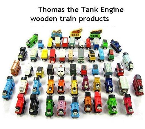 10pcsset Thomas Friends Diecast Wooden Trains Cars Toys Loose