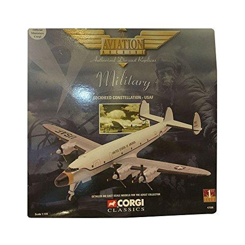 Corgi Classics Military Lockheed Constellation USAF 1144 Scale Diecast Airplane Replica