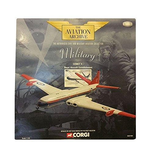 Corgi Military Comet 4- Royal Aircraft Establishment 1144 Scale Diecast Airplane Replica