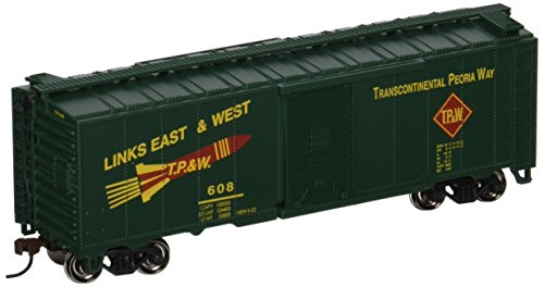 Bachmann Trains Toledo Peoria And Western 40 Box Car-Ho Scale