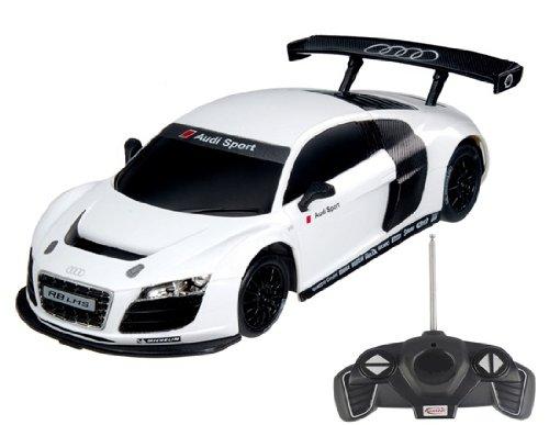 118 Scale Audi R8 Model RC Car RTR COLOR WHITE