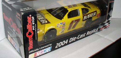 TEAM CALIBER PIT STOP 17 NASCAR 2004 DIE-CAST REPLICA CAR