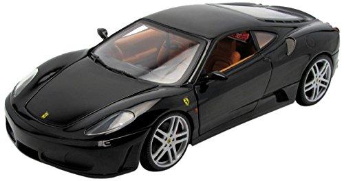2006 Ferrari F430 diecast model car 118 scale diecast by Hot Wheels - Black H3070