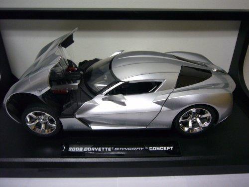 2009 Chevrolet Corvette Stingray Concept Diecast Model Car 118 - Silver by Corvette Stingray Concept
