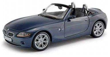 BMW Z4 Diecast Model Blue 118 Die Cast Car