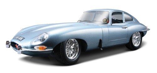 Bburago 1961 Jaguar E Type Coupe Diecast Model Die Cast Car 118 Scale Red