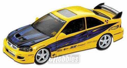 Hot Wheels Honda Civic Super Street Diecast Model Car 118 Scale AUTOart