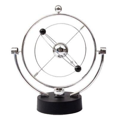 Evolution Silver Kinetic Milky Celestial Bodies Motion Orbital Decor Desk Toy