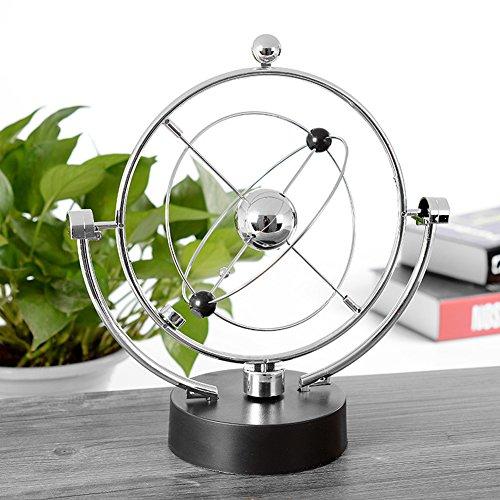 Revolving Gadget Kinetic Orbital Perpetual Motion Desk Office Decor Art Toy Gift