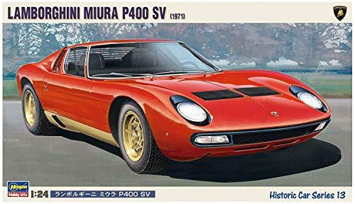 Hasegawa 124 Scale Lamborghini Miura P400 SV Plastic Model Car Kit  21213  Official Licensed Product