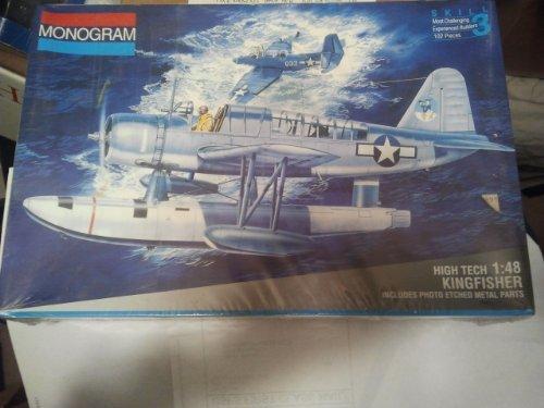 Monogram 5488 High Tech Kingfisher World War II 148 Scale Model Airplane Kit