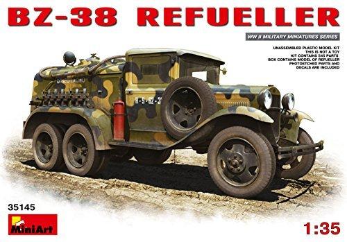 PLASTIC MODEL CAR BZ-38 REFUELLER 135 MINIART 35145 by MiniArt