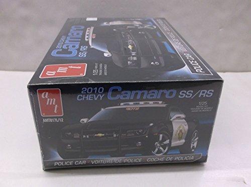 Qiyun AMT 1 25 Scale 2010 Chevy Camaro Police Car SS RS Plastic Model Car Kit BNIB