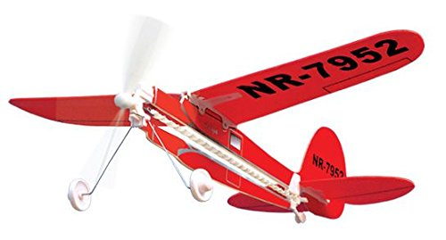 Lockheed Vega Rubber Band Powered Model History Plane Kit Lyonaeec 12602