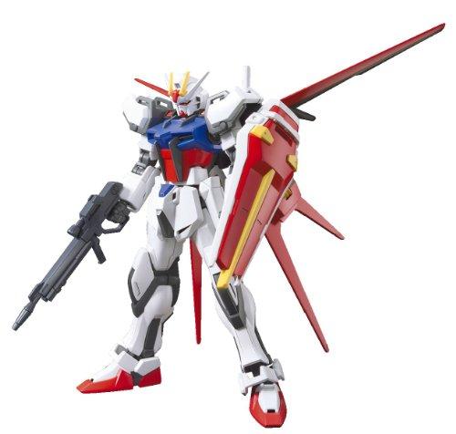 Bandai Hobby HGCE Aile Strike Gundam Model Kit 1144 Scale