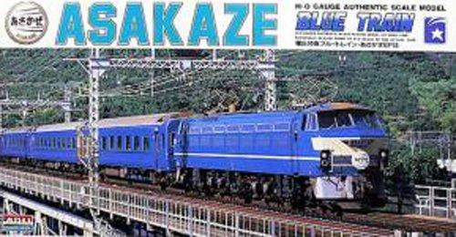 180 train model kit HO series EF66 electric locomotive express sleeper Asafu