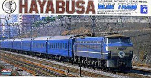 180 train model kit HO series EF66 electric locomotive express sleeper Hayabusa